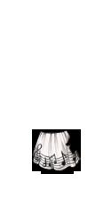 Musical Staff Skirt