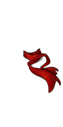 Red Spectral Scarf