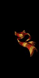 Warm Striped Spectral Scarf