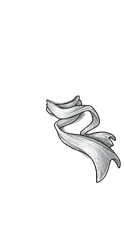 White Spectral Scarf