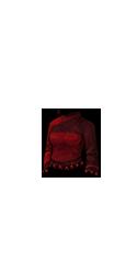 חולצה ארוכה אדומה