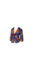 Closed Paradise Floral Jacket