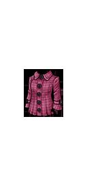 סוודר סגול מכופתר