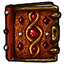 Ruby Encrusted Tome